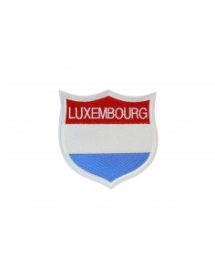 Luxembourg City Luxembourg Shield Embroidered Patch